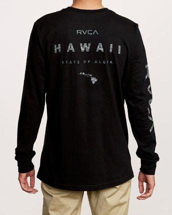 4 Da Aina Sphere Long Sleeve T-Shirt Black M451VRDA RVCA