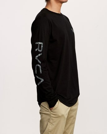 3 Da Aina Sphere Long Sleeve T-Shirt Black M451VRDA RVCA