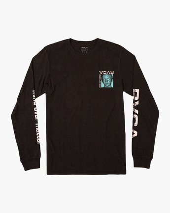 1 Matter Long Sleeve T-Shirt Black M451VRMA RVCA