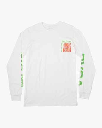 1 Matter Long Sleeve T-Shirt White M451VRMA RVCA