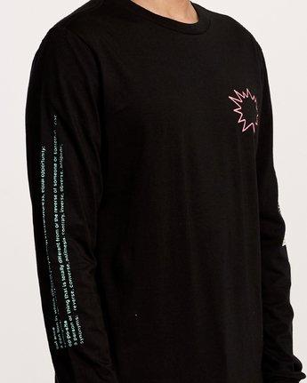 7 TV Dinner Long Sleeve T-Shirt Black M451VRTV RVCA