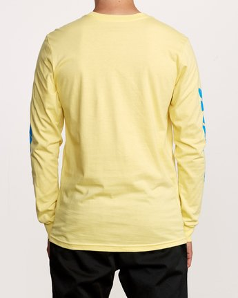 4 Warehouse Long Sleeve T-Shirt Yellow M451VRWA RVCA