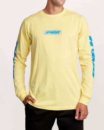 1 Warehouse Long Sleeve T-Shirt Yellow M451VRWA RVCA