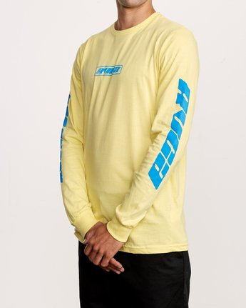 2 Warehouse Long Sleeve T-Shirt Yellow M451VRWA RVCA
