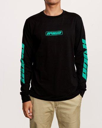 1 Warehouse Long Sleeve T-Shirt Black M451VRWA RVCA