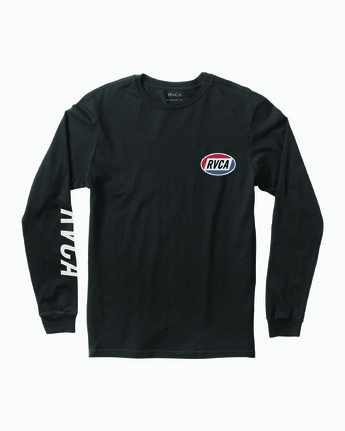1 Cortex Long Sleeve T-Shirt Black M451WRCT RVCA