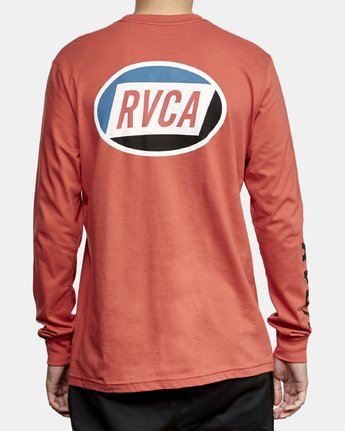 5 Cortex Long Sleeve T-Shirt Grey M451WRCT RVCA