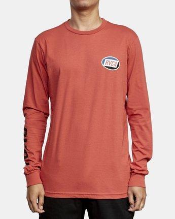 2 Cortex Long Sleeve T-Shirt Grey M451WRCT RVCA