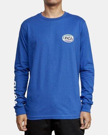 2 Cortex Long Sleeve T-Shirt Blue M451WRCT RVCA