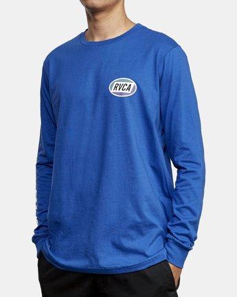 3 Cortex Long Sleeve T-Shirt Blue M451WRCT RVCA