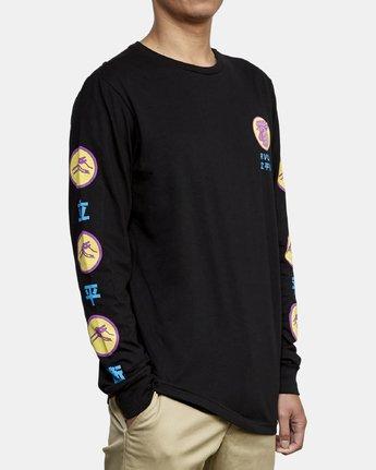 5 Take Out Long Sleeve T-Shirt Black M451WRTA RVCA