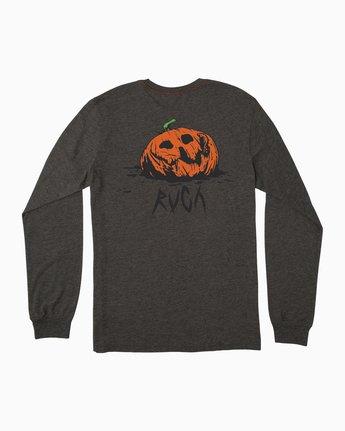 0 Jeff McMillan Jack O Lantern T-Shirt Black M452SRMJ RVCA