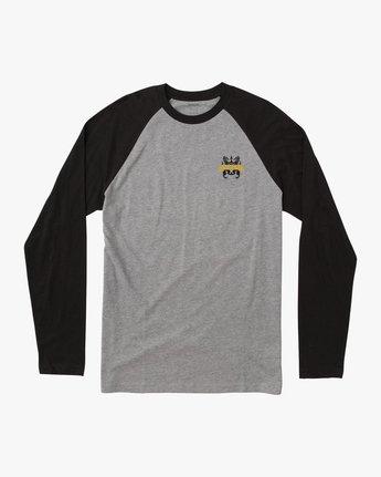0 Chest Crest Raglan T-Shirt  M454QRCH RVCA
