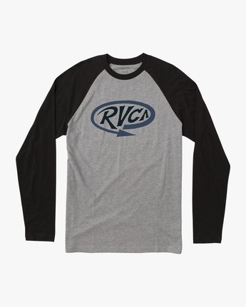 0 Looped T-Shirt Black M454QRLO RVCA