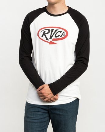 2 Looped T-Shirt  M454QRLO RVCA