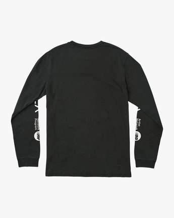 1 RVCA ANP Pigment Long Sleeve T-Shirt Black M456QRRV RVCA