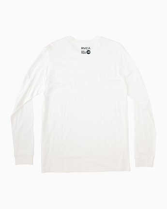 1 Alleged Long Sleeve T-Shirt White M459QRAL RVCA
