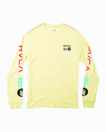 1 ANP LONG SLEEVE TEE Grey M4631RAN RVCA