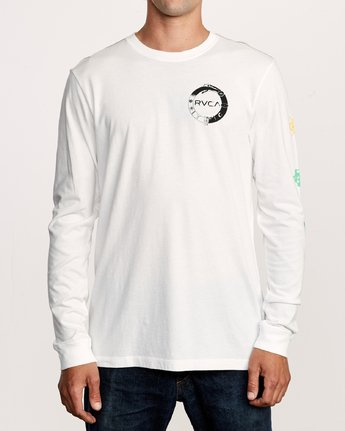 2 Infinity Long Sleeve T-Shirt White M463VRIN RVCA