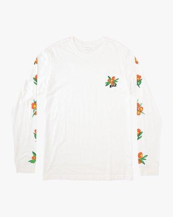 1 Grisancich Jungle Long Sleeve TEE White M463VRJU RVCA