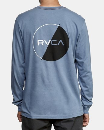 4 Lateral Long Sleeve T-Shirt Red M463WRLA RVCA