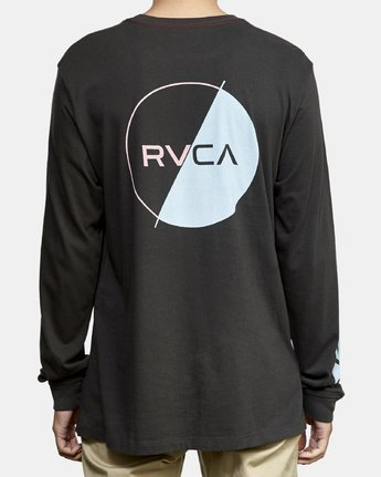 4 Lateral Long Sleeve T-Shirt Black M463WRLA RVCA