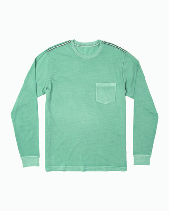 0 PTC Pigment Long Sleeve T-Shirt Multicolor M467TRPT RVCA