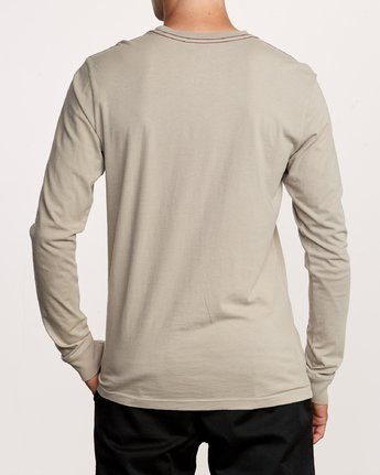 3 PTC Pigment Long Sleeve T-Shirt Multicolor M467TRPT RVCA