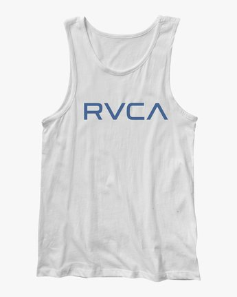 0 BIG RVCA TANK TOP White M4812RBI RVCA