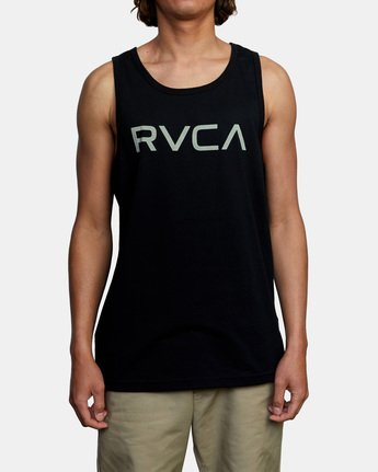 2 BIG RVCA TANK TOP Black M4812RBI RVCA