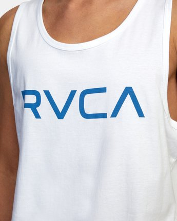 3 BIG RVCA TANK TOP White M4812RBI RVCA
