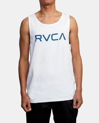 1 BIG RVCA TANK TOP White M4812RBI RVCA