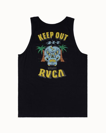 1 KEEP OUT TANK Black M4813RKO RVCA
