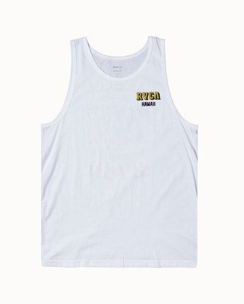 0 KEEP OUT TANK White M4813RKO RVCA