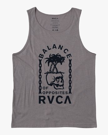 0 Bad Palms Tank Top  M481URBA RVCA