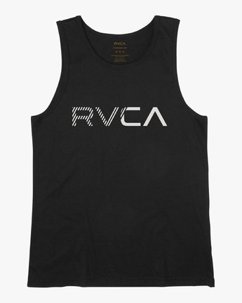 0 Blinded Tank Top Black M481URBL RVCA