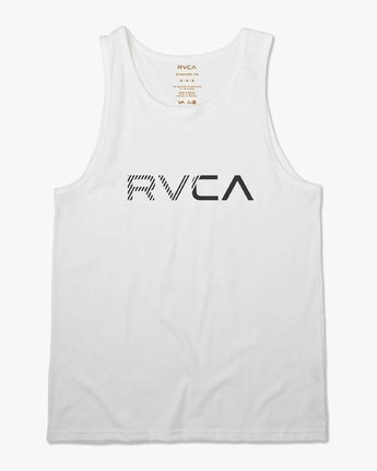 0 Blinded Tank Top White M481URBL RVCA