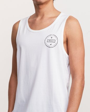 5 Induseal Tank Top White M481URIN RVCA