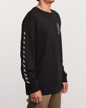 4 Kaos Long Sleeve TEE Black M492URKA RVCA