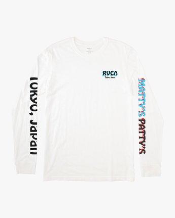 1 Matty's Patty's Long Sleeve Tokyo T-Shirt  M492VRMT RVCA
