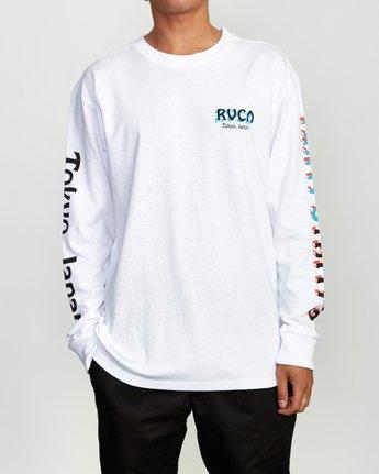 2 Matty's Patty's Long Sleeve Tokyo T-Shirt  M492VRMT RVCA