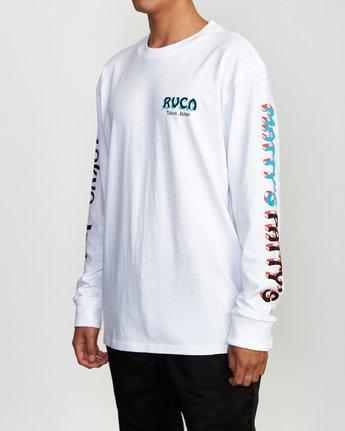 3 Matty's Patty's Long Sleeve Tokyo T-Shirt  M492VRMT RVCA