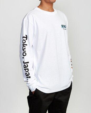 4 Matty's Patty's Long Sleeve Tokyo T-Shirt  M492VRMT RVCA