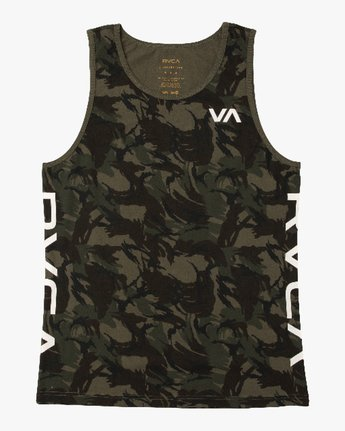 0 Main Street Tank Top Brown M494QRMA RVCA