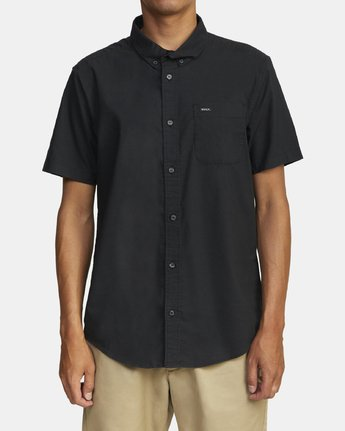 1 THATLL DO OXFORD STRETCH SHIRT  M5011ROS RVCA