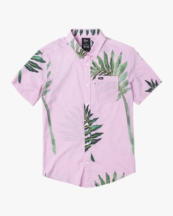 4 ROZICH SHORT SLEEVE SHIRT Pink M5013RRS RVCA