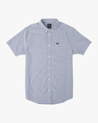 5 That'll Do Stretch Button-Up Shirt Blue M501VRTD RVCA