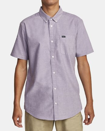 0 THAT'LL DO STRETCH BUTTON-UP SHIRT  M501VRTD RVCA