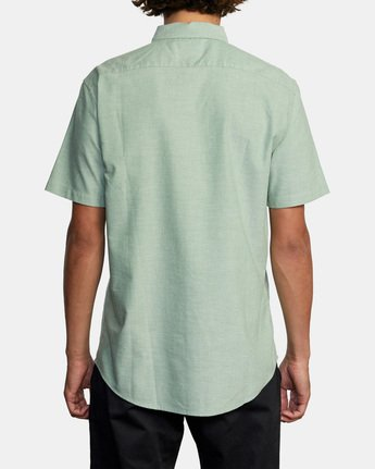 2 THATLL DO STRETCH SHORT SLEEVE SHIRT Green M501VRTD RVCA