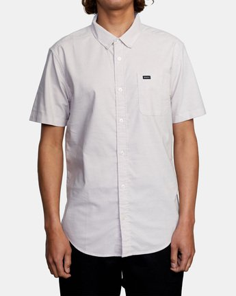 1 THATLL DO STRETCH SHORT SLEEVE SHIRT Grey M501VRTD RVCA